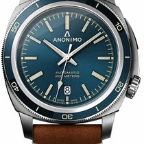 Anonimo Steel 42mm Automatic new