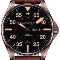 Hamilton Khaki Pilot Day Date Steel 46mm Black