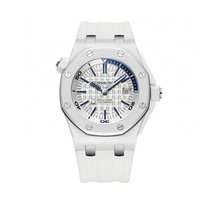 Audemars Piguet Royal Oak Offshore Diver Ceramic 42mm White No numerals United States of America, New York, NYC