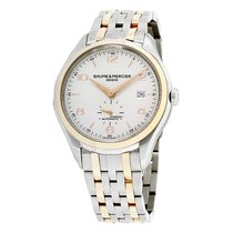 Baume & Mercier Rose gold Automatic White Arabic numerals 41mm new Clifton