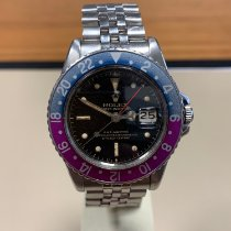 Rolex GMT-Master 1675 Gilt Good Steel 40mm Automatic