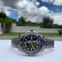 Rolex 116710BLNR Steel 2018 GMT-Master II 40mm pre-owned