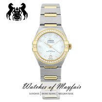 Omega Constellation Gold/Steel 29mm White Australia, Melbourne