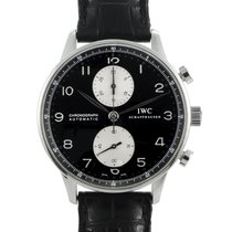 IWC Portuguese Chronograph Steel 41mm Black Arabic numerals United States of America, Pennsylvania, Southampton