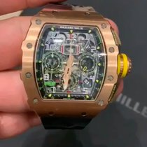 Richard Mille RM 011-03 Rose gold RM 011 49.94mm new