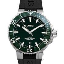 Oris Aquis Date 01 733 7730 4157-07 4 24 64EB new
