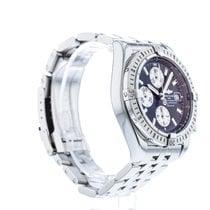 Breitling Chronomat Evolution Stahl 44mm Schwarz