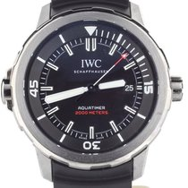 IWC Aquatimer Automatic 2000 pre-owned 42mm Black Date Silicon