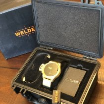 Welder Yellow gold 50mm Quartz 00027 pre-owned