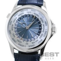 Patek Philippe World Time 5130P-001 Velmi dobré Platina 39mm Automatika
