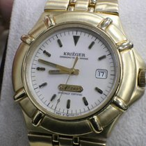 Krieger Or jaune 40mm Quartz K929 occasion
