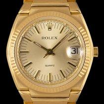 Rolex 5100 Velmi dobré Žluté zlato 39mm Quartz