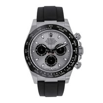 Rolex Daytona White gold 40mm Silver No numerals United States of America, New York, New York