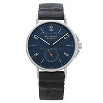 NOMOS Ahoi Atlantik Steel 40.3mm Blue