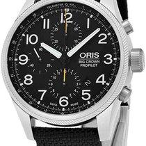 Oris Big Crown ProPilot Chronograph Steel Black United States of America, New York, Brooklyn