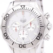 Omega Seamaster Chronograph U.s. Special Edition Watch 2589.30...