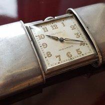 Movado 29. Movado Switzerland - sterling silver travel clock -...
