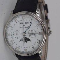 Blancpain Хронограф 40.30mm Автоподзавод новые Villeret Complete Calendar Белый