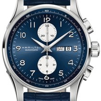Hamilton Jazzmaster Maestro new 2019 Automatic Chronograph Watch with original box and original papers H32766643