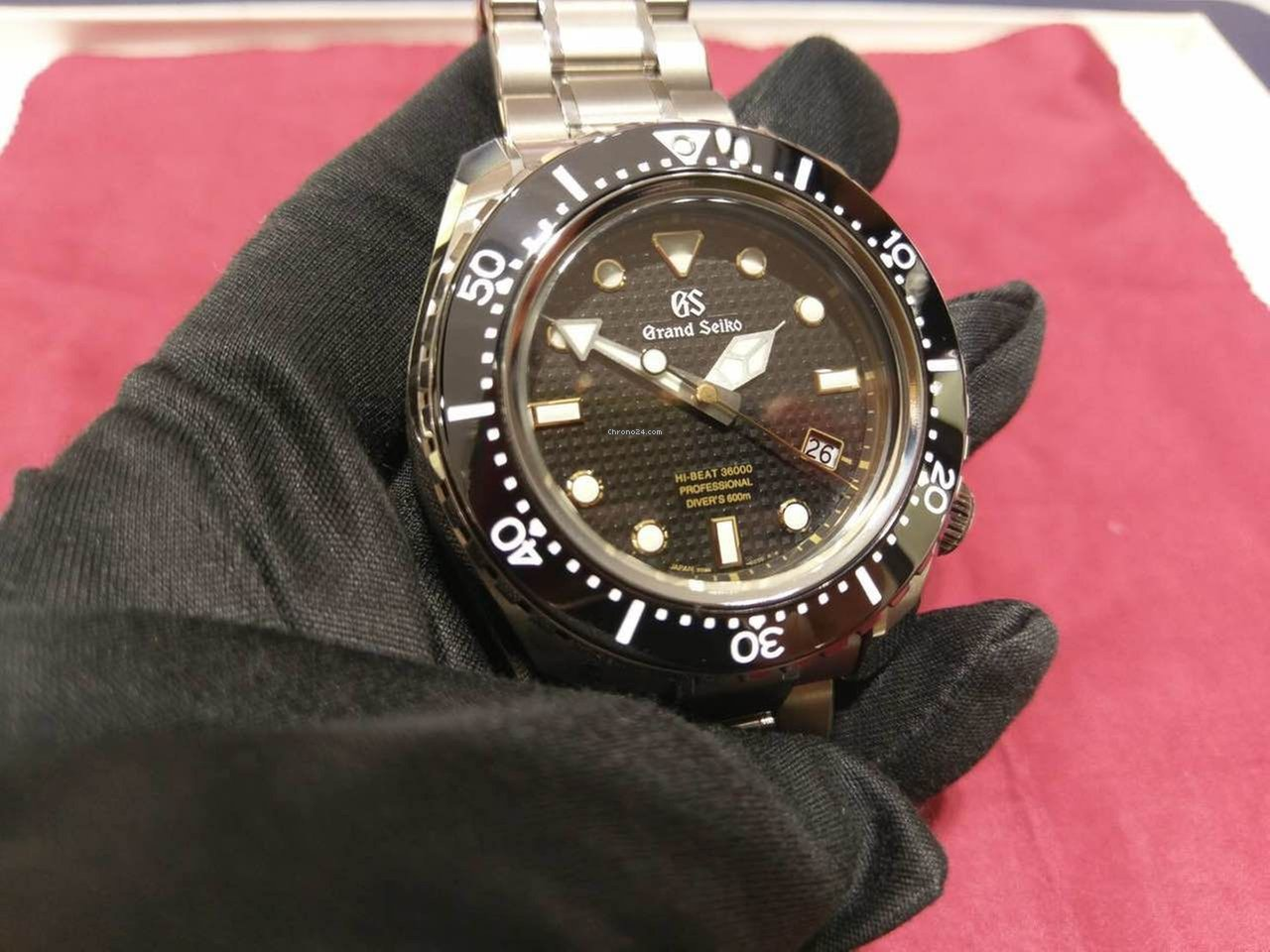 huge selection of 86211 ad852 GRAND SEIKO The Hi-Beat 36000 Professional 600m Diver's SBGH255