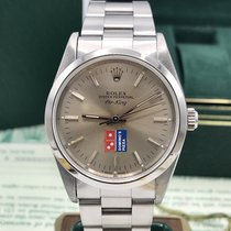 Rolex 1993 Air-King 14000 Domino's Pizza Logo Dial with Box...