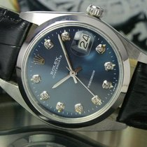 Rolex OysterDate Precision Winding Steel Mens Watch Ref 6694