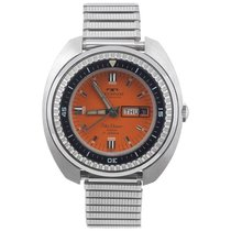 Technos Skydiver Orange Dial Automatic