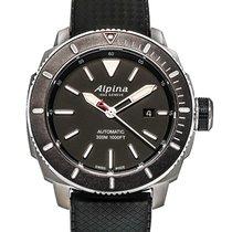 Alpina Seastrong Diver 300 Automatic Men's Watch – AL-525LBG4V6