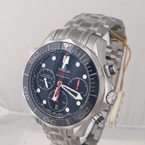 Omega Seamaster Diver 300 M Staal 41.5mm Blauw Geen cijfers