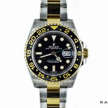 Rolex GMT-Master II SS/Gold New-Factory Stickers