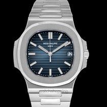Patek Philippe Nautilus Black-blue/Steel 40mm - 5711/1A-010