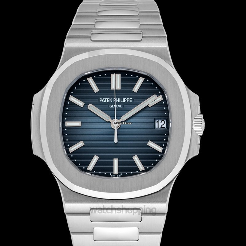 10b226acb7c Patek Philippe Nautilus Black-blue/Steel 40mm - 5711/1A-010 for $98,059 for  sale from a Trusted Seller on Chrono24