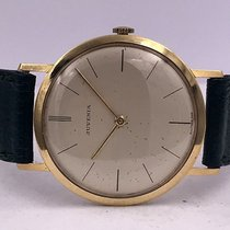 Juvenia vintage mechanical CLASSIC val 604 manufacture 18ct gold