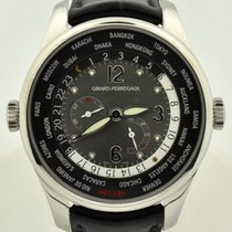 Girard Perregaux WW.TC Steel 41mm Grey Arabic numerals United States of America, Georgia, Atlanta