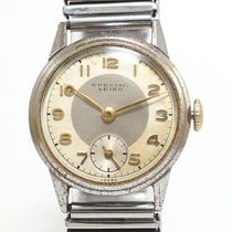 Seiko SPECIAL 1930-1950 WWII White/Gold manual pre SUPER antique