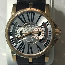 Roger Dubuis Yellow gold Automatic 45mm pre-owned Excalibur