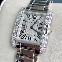 Cartier Tank Anglaise White gold 30mm Black United States of America, Texas, Houston