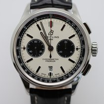 Breitling Steel 43mm White