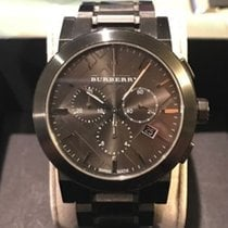 Burberry Chronograph 42mm Quartz pre-owned Grey