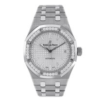 Audemars Piguet Royal Oak Selfwinding Titanium 37mm Silver No numerals United States of America, New York, New York