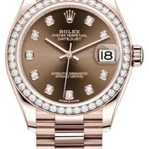 Rolex Datejust Or rose 31mm
