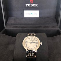 Tudor Clair de Rose Steel 30mm Roman numerals