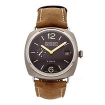 Panerai Radiomir 8 Days Titanium 45mm Brown Arabic numerals United States of America, Pennsylvania, Bala Cynwyd