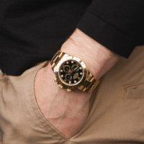 Rolex 116528 Gelbgold 2015 Daytona 40mm gebraucht