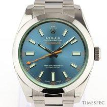Rolex Milgauss 116400GV 2014 gebraucht
