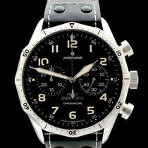 Junghans Meister Pilot Steel 43mm Black Arabic numerals