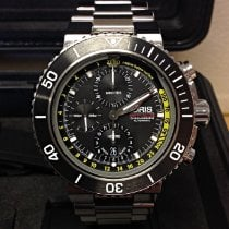Oris Aquis Depth Gauge Steel 48mm Black United Kingdom, Wilmslow