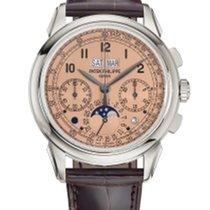 Patek Philippe Platinum Manual winding Pink 41mm new Perpetual Calendar Chronograph
