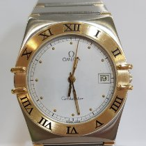Omega Constellation pre-owned 33mm Date Gold/Steel