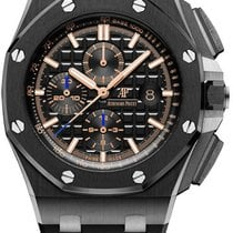 Audemars Piguet Ceramic Automatic Black No numerals 44mm new Royal Oak Offshore Chronograph